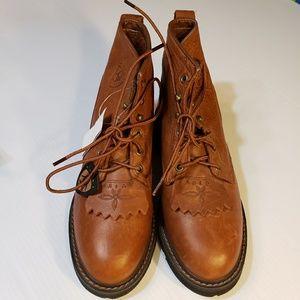 NEW Ariat ATS Lace Up Kiltie Womens Work Boots 6B
